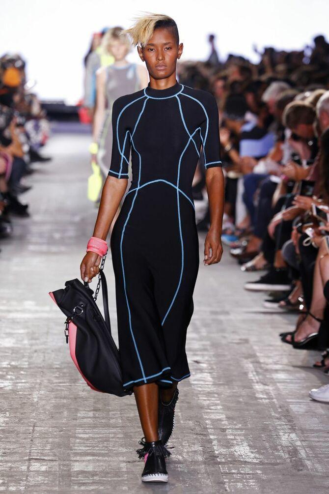 Модные спортивные платья 2020-2021 42