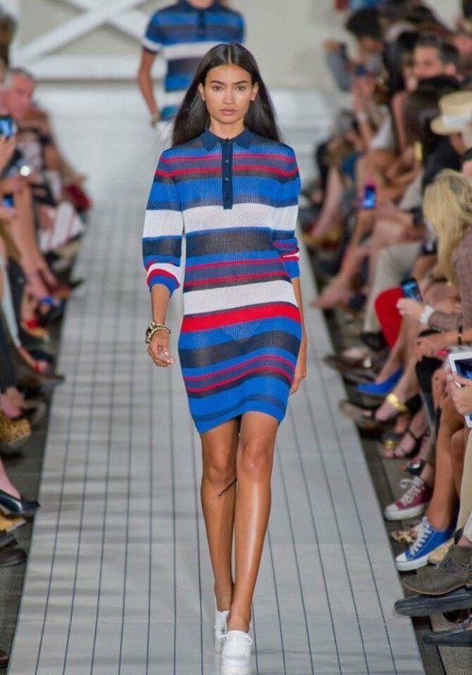 Модные спортивные платья 2021-2022 45
