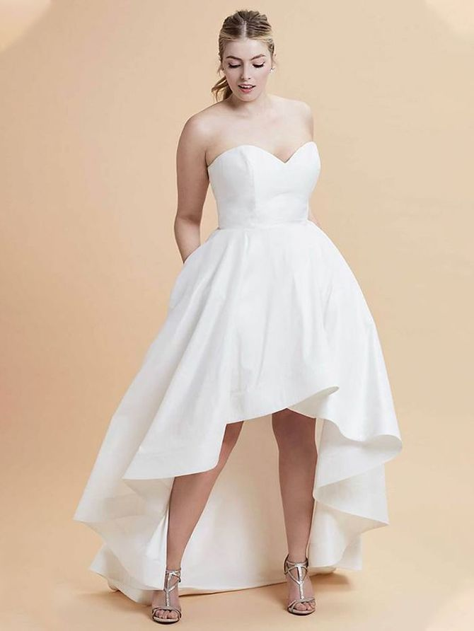 Короткие свадебные платья 2021-2022 48