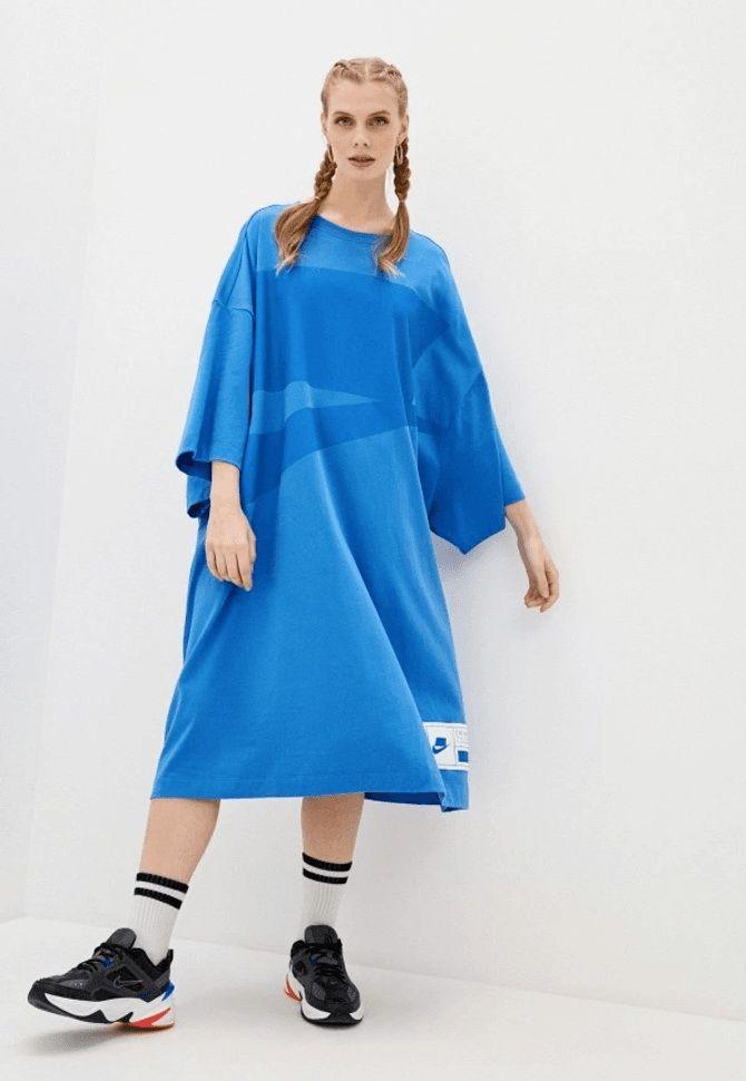 Модные спортивные платья 2021-2022 48