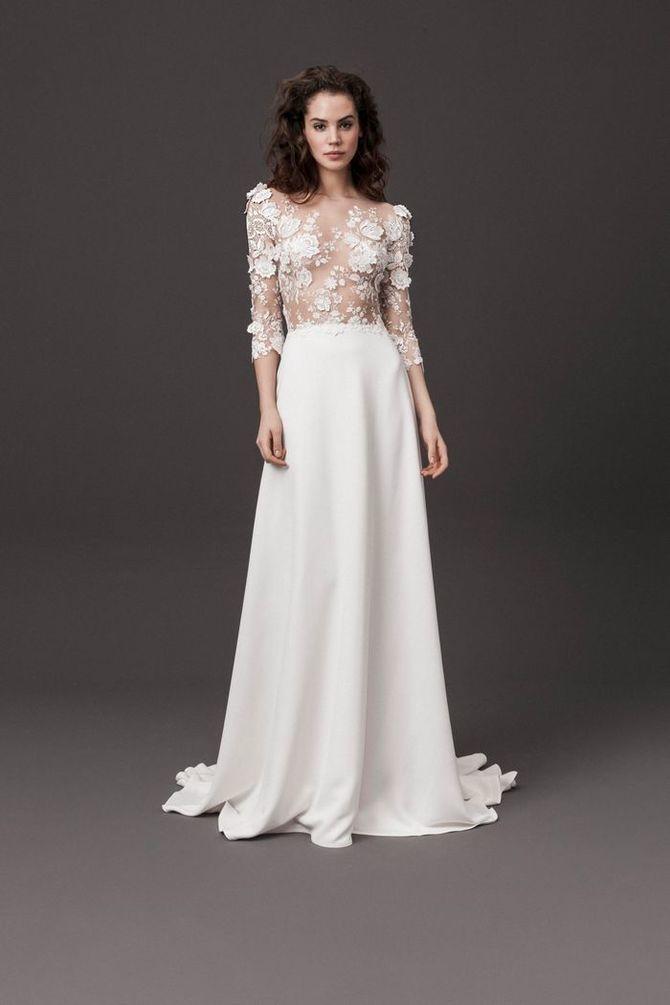 Модні весільні сукні з рукавами 2021-2022 6
