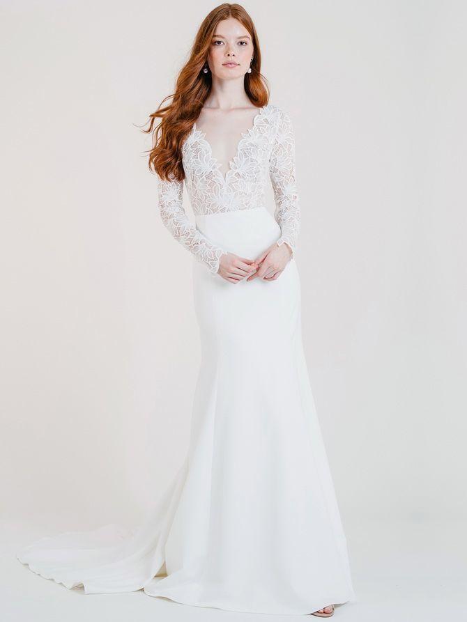 Модні весільні сукні з рукавами 2021-2022 9