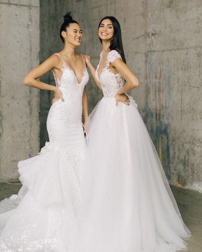 Цвета свадебных платьев 2021: основные тренды 3
