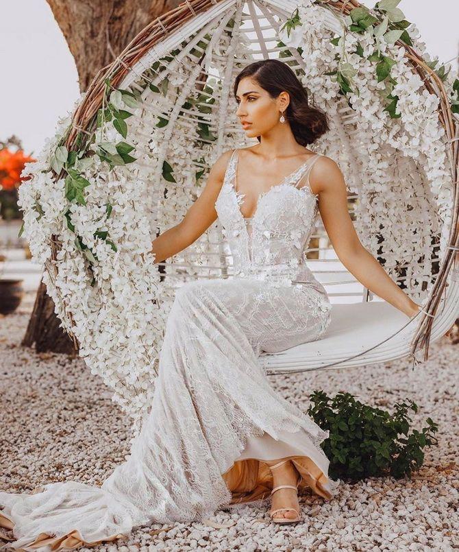 Цвета свадебных платьев 2021: основные тренды 1