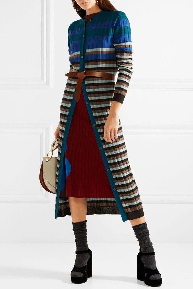 Модная одежда в полоску: тренды 2021-2022 года 12
