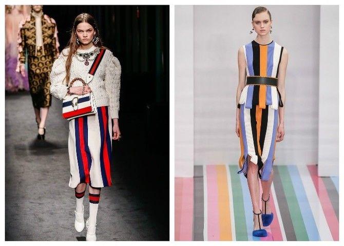 Модная одежда в полоску: тренды 2021-2022 года 24