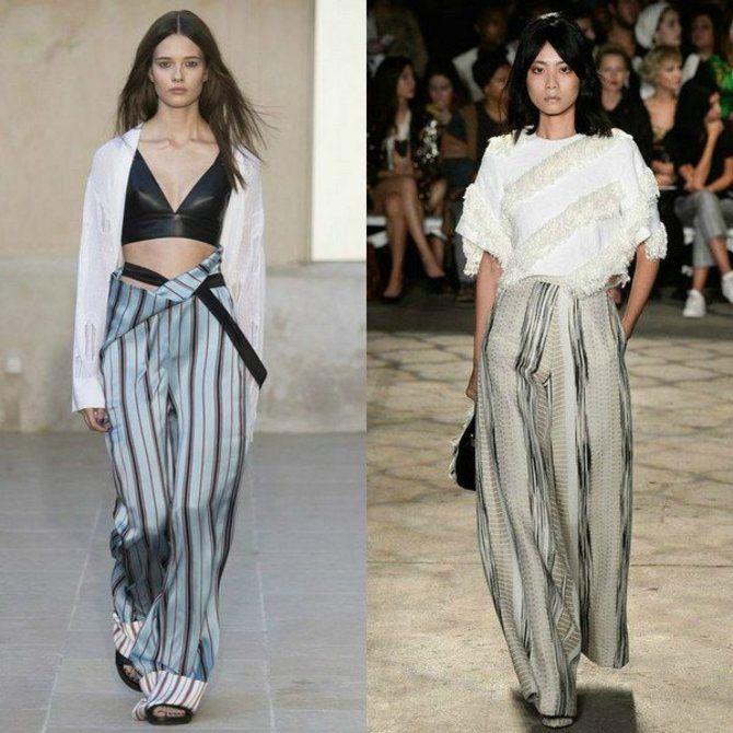 Модная одежда в полоску: тренды 2021-2022 года 30
