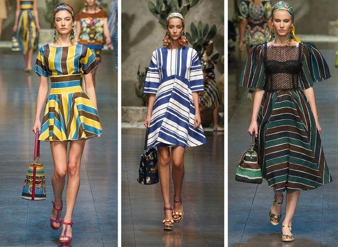 Модная одежда в полоску: тренды 2021-2022 года 34
