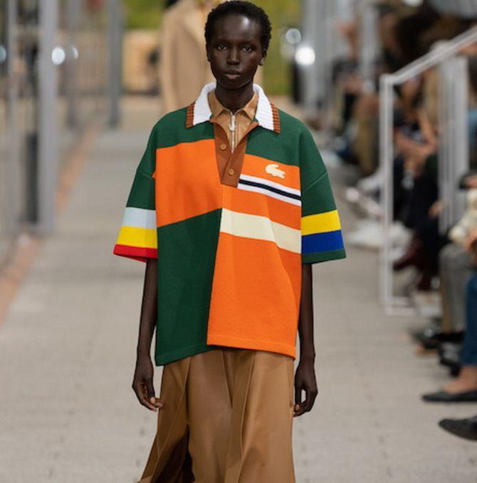 Модная одежда в полоску: тренды 2021-2022 года 44