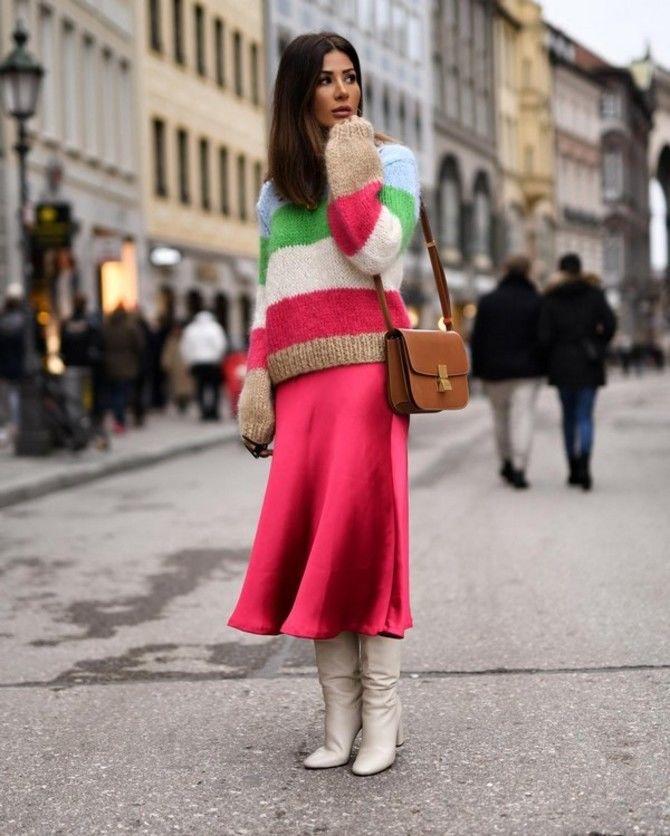 Модная одежда в полоску: тренды 2021-2022 года 48