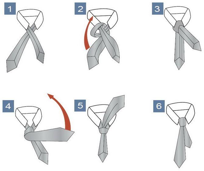 Як зав'язати краватку – 5 кращих способів 10