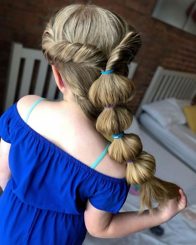Прості і красиві зачіски дівчинці на 1 вересня 20