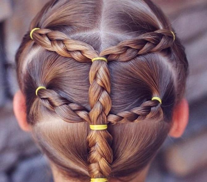 Легкі та красиві зачіски для дівчаток в школу: лайфхаки, ідеї, поради 1