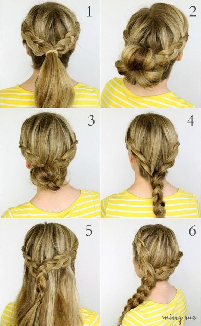 Топ-12 сучасних і модних зачісок в школу для підлітків: нові ідеї, фото 2