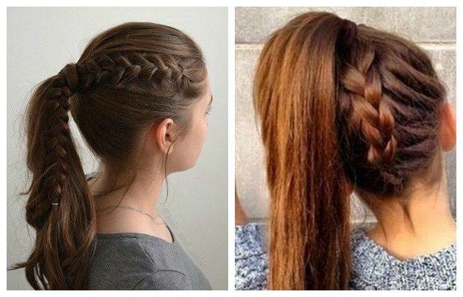 Топ-12 сучасних і модних зачісок в школу для підлітків: нові ідеї, фото 11