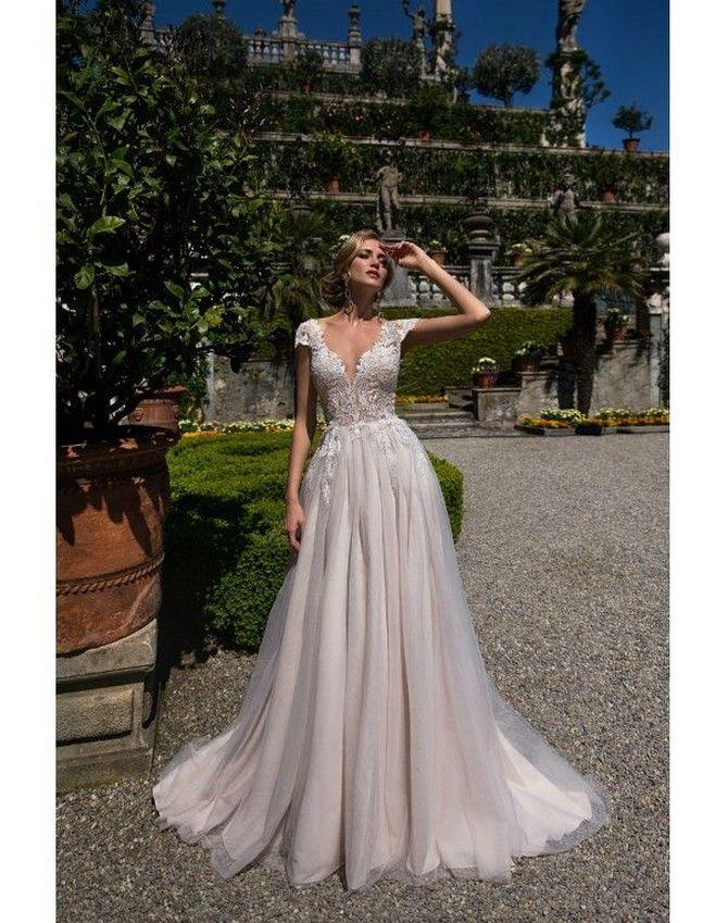 Цвета свадебных платьев 2021: основные тренды 29