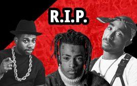 7 відомих реперів, які померли від кулі
