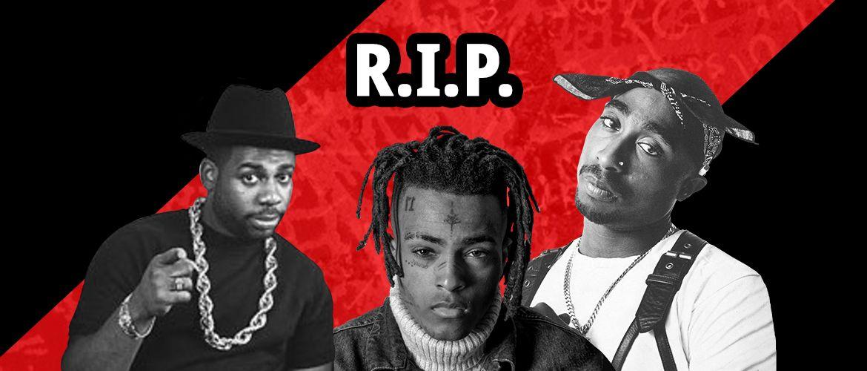7 известных рэперов, умерших от пули