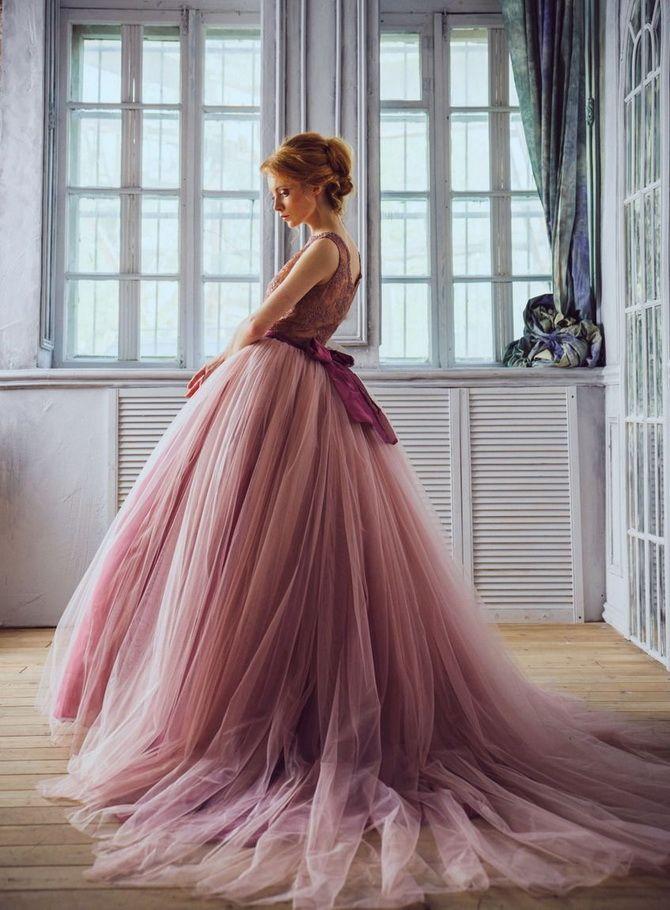 Цвета свадебных платьев 2021: основные тренды 38