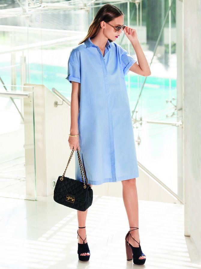 Офісні сукні 2020-2021: ділова елегантність 10