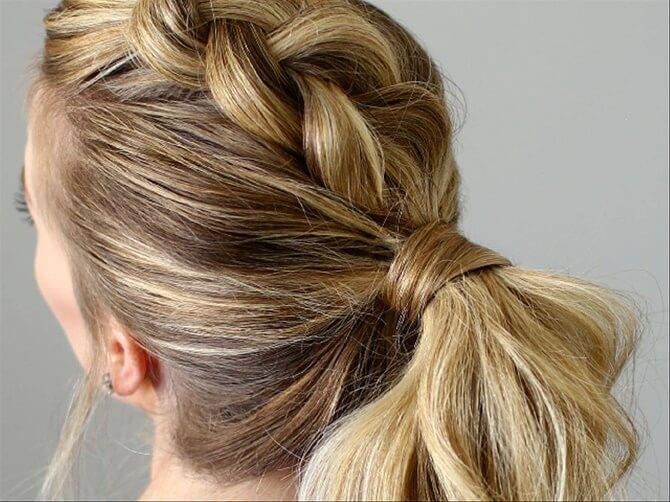 Прості і красиві зачіски в школу за 5 хвилин 2
