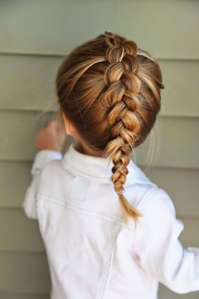 Прості і красиві зачіски в школу за 5 хвилин 13