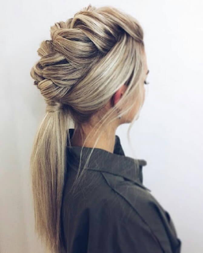 Прості і красиві зачіски в школу за 5 хвилин 16