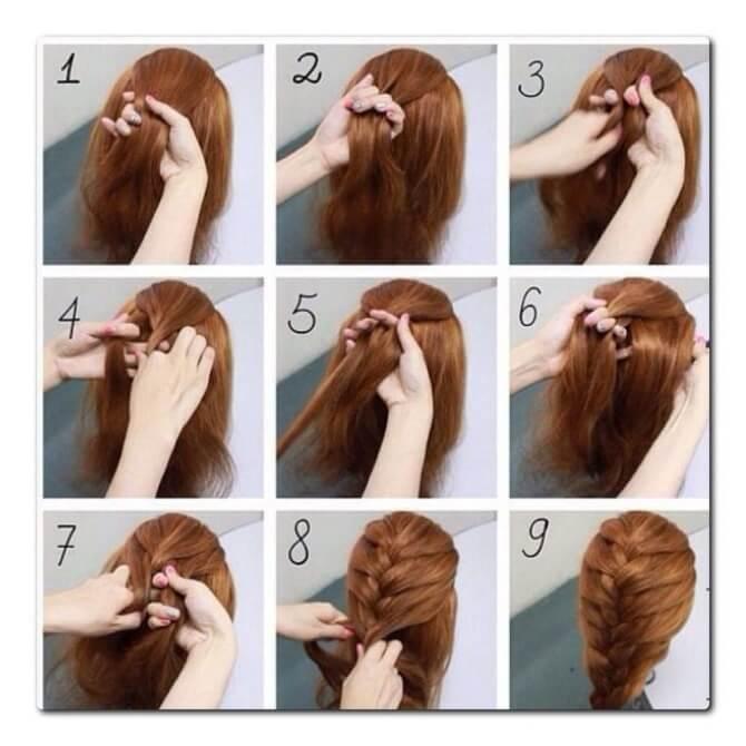 Прості і красиві зачіски в школу за 5 хвилин 17