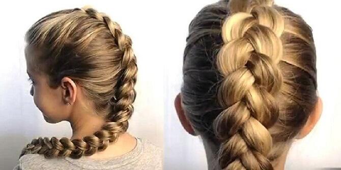 Прості і красиві зачіски в школу за 5 хвилин 18