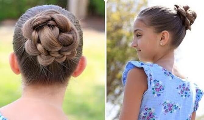 Прості і красиві зачіски в школу за 5 хвилин 20