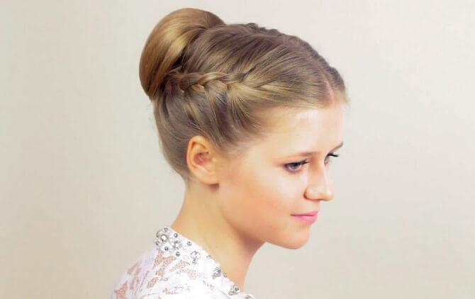 Прості і красиві зачіски в школу за 5 хвилин 22