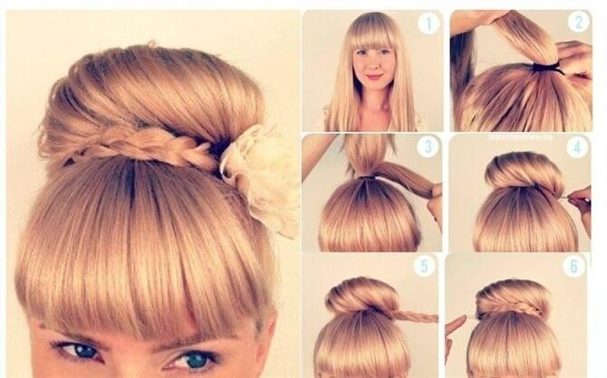 Прості і красиві зачіски в школу за 5 хвилин 25