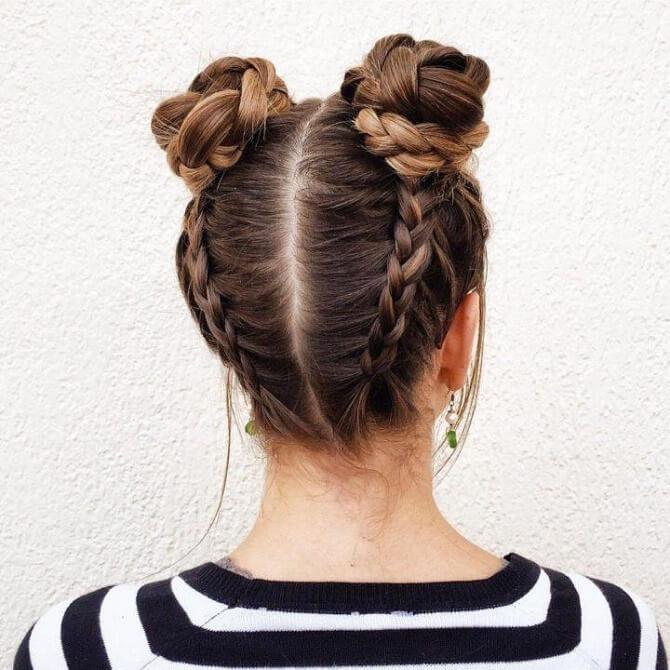 Прості і красиві зачіски в школу за 5 хвилин 23