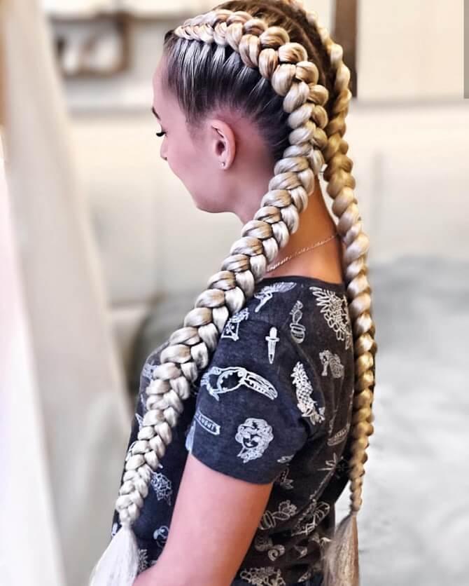 Прості і красиві зачіски в школу за 5 хвилин 28