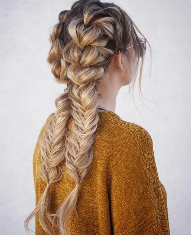 Прості і красиві зачіски в школу за 5 хвилин 29