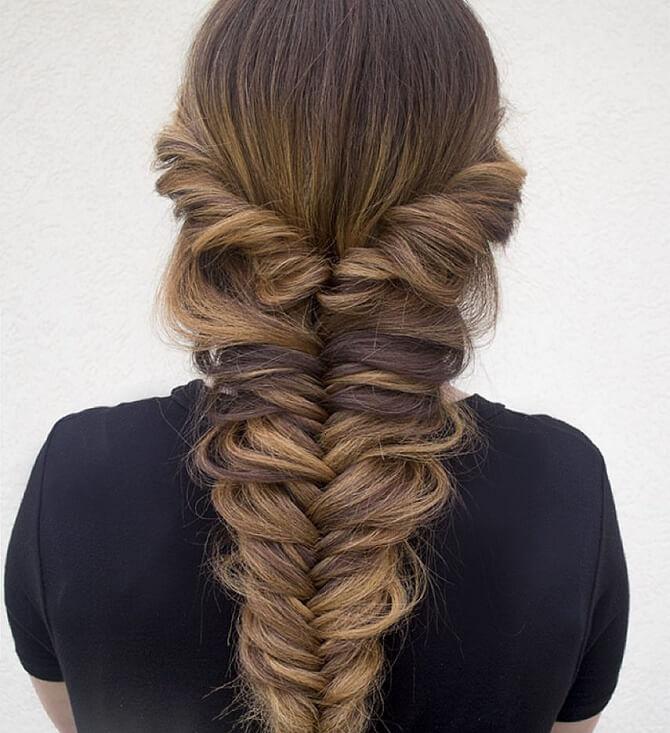 Прості і красиві зачіски в школу за 5 хвилин 31
