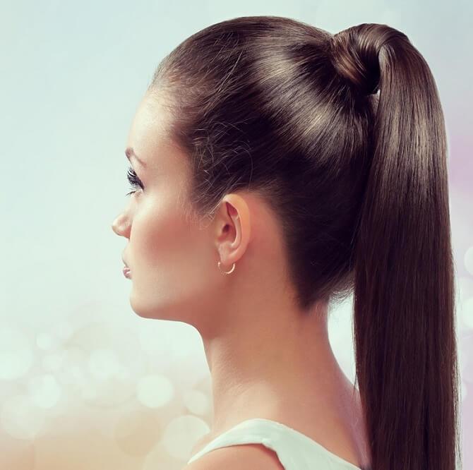 Прості і красиві зачіски в школу за 5 хвилин 6