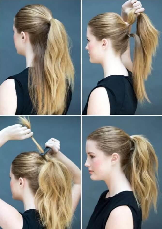 Прості і красиві зачіски в школу за 5 хвилин 8