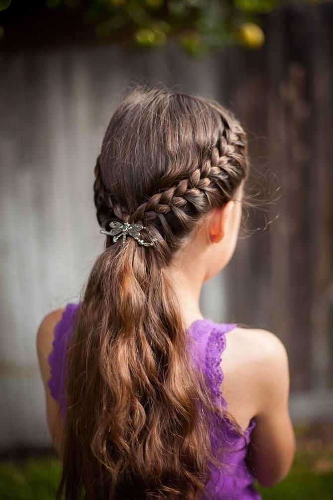 Прості і красиві зачіски в школу за 5 хвилин 11