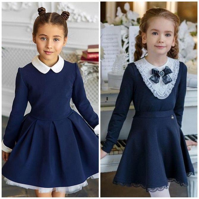 Шкільні сукні для дівчаток: наймодніші тенденції 2021-2022 року 10