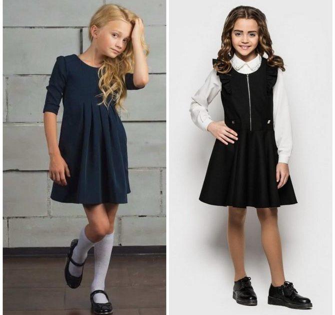Шкільні сукні для дівчаток: наймодніші тенденції 2021-2022 року 12