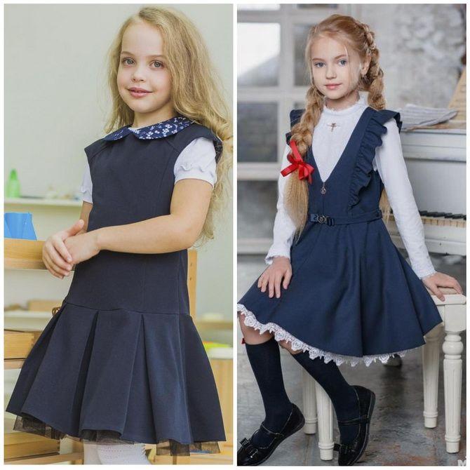 Шкільні сукні для дівчаток: наймодніші тенденції 2021-2022 року 13