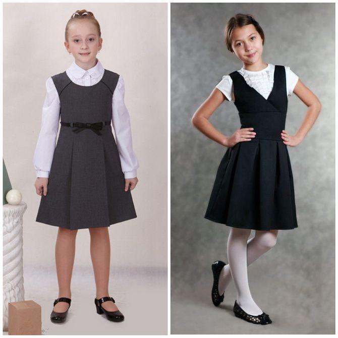 Шкільні сукні для дівчаток: наймодніші тенденції 2021-2022 року 14