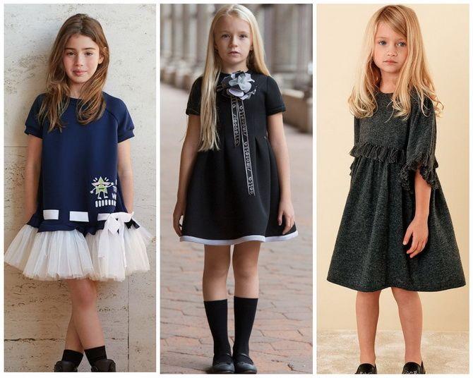 Шкільні сукні для дівчаток: наймодніші тенденції 2021-2022 року 15