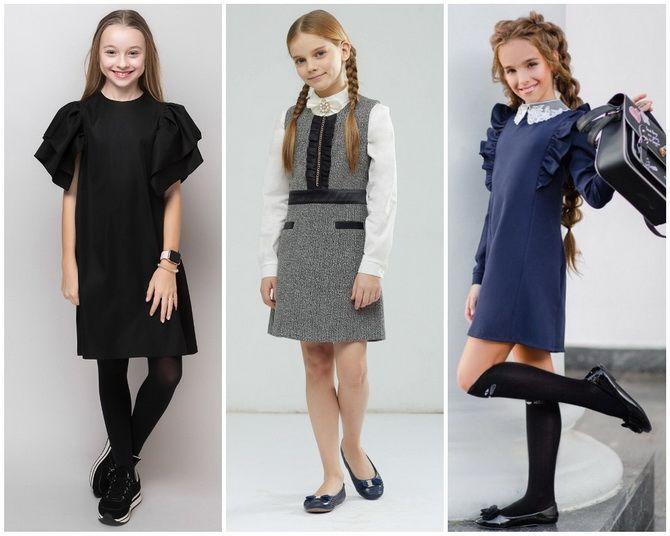Шкільні сукні для дівчаток: наймодніші тенденції 2021-2022 року 16