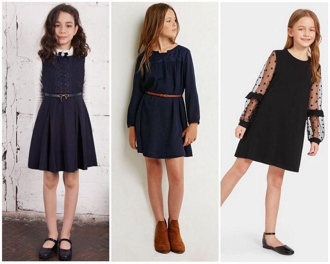 Шкільні сукні для дівчаток: наймодніші тенденції 2021-2022 року 17
