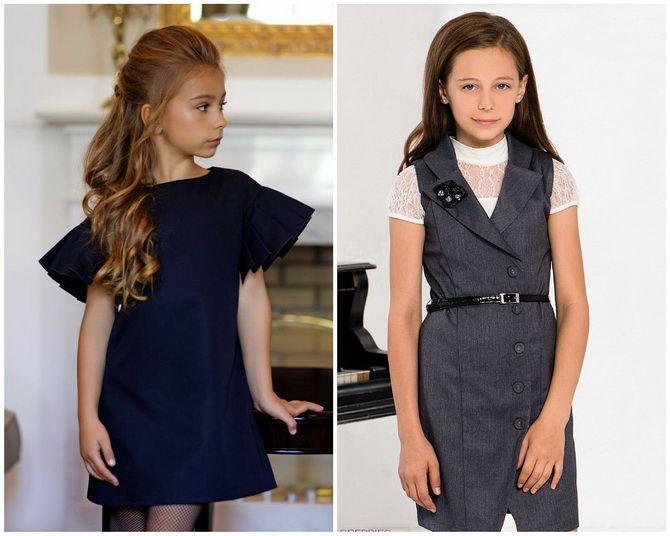 Шкільні сукні для дівчаток: наймодніші тенденції 2021-2022 року 18