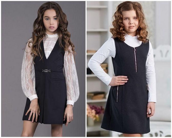 Шкільні сукні для дівчаток: наймодніші тенденції 2021-2022 року 19