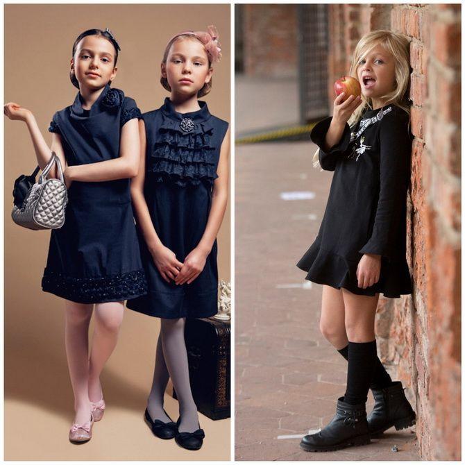 Шкільні сукні для дівчаток: наймодніші тенденції 2021-2022 року 3