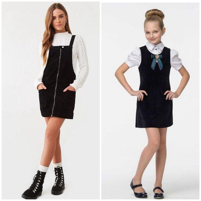 Шкільні сукні для дівчаток: наймодніші тенденції 2021-2022 року 5